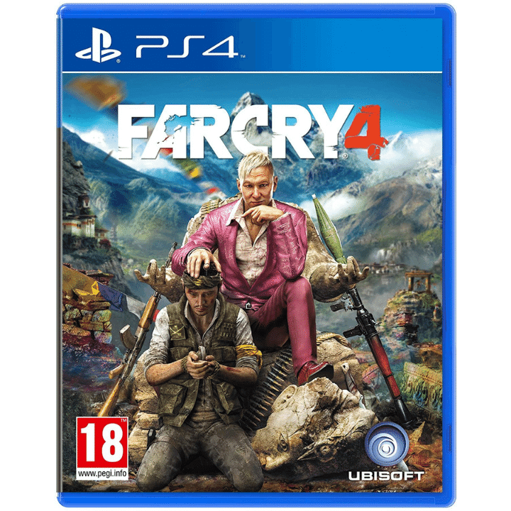 Far Cry 4 PlayStation 4 Shooting Game